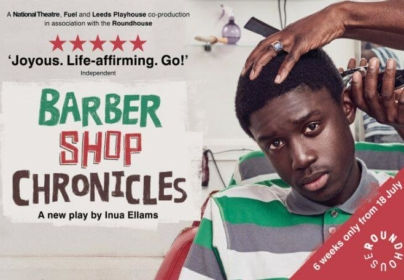 BARBERSHOP CHRONICLES TICKETS FOR £20
